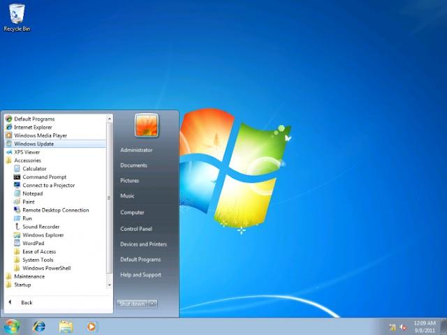 O Sistema operacional Windows 7 vai perder suporte grátis daqui a um ano