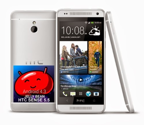 Iniziato da poche ore l'aggiornamento Software Android 4.3 Jelly Bean con interfaccia Sense 5.5 per Htc One Mini