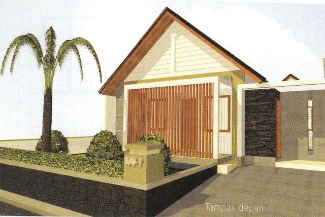Rumah Tingkat Dinamika Garis Pembentuk Proporsi