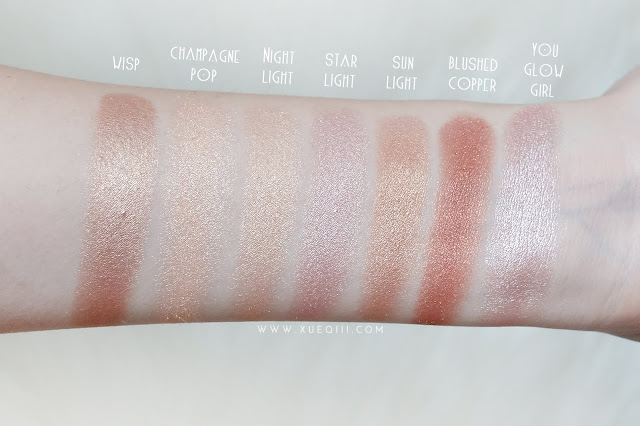 Makeup Geek x Kathleen Lights Highlighter Palette Review and Swatches
