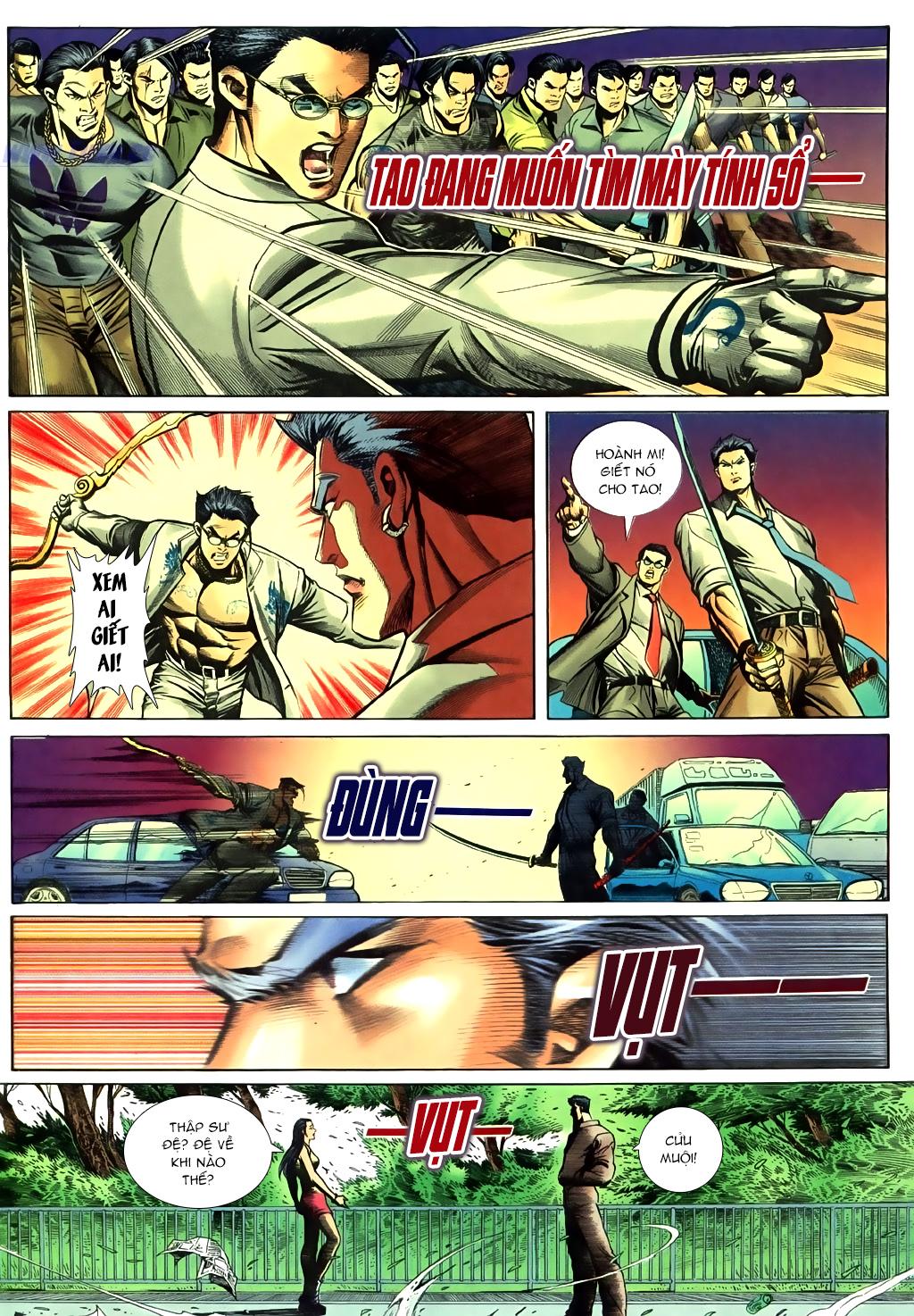 Người Trong Giang Hồ chapter 430 trang 7