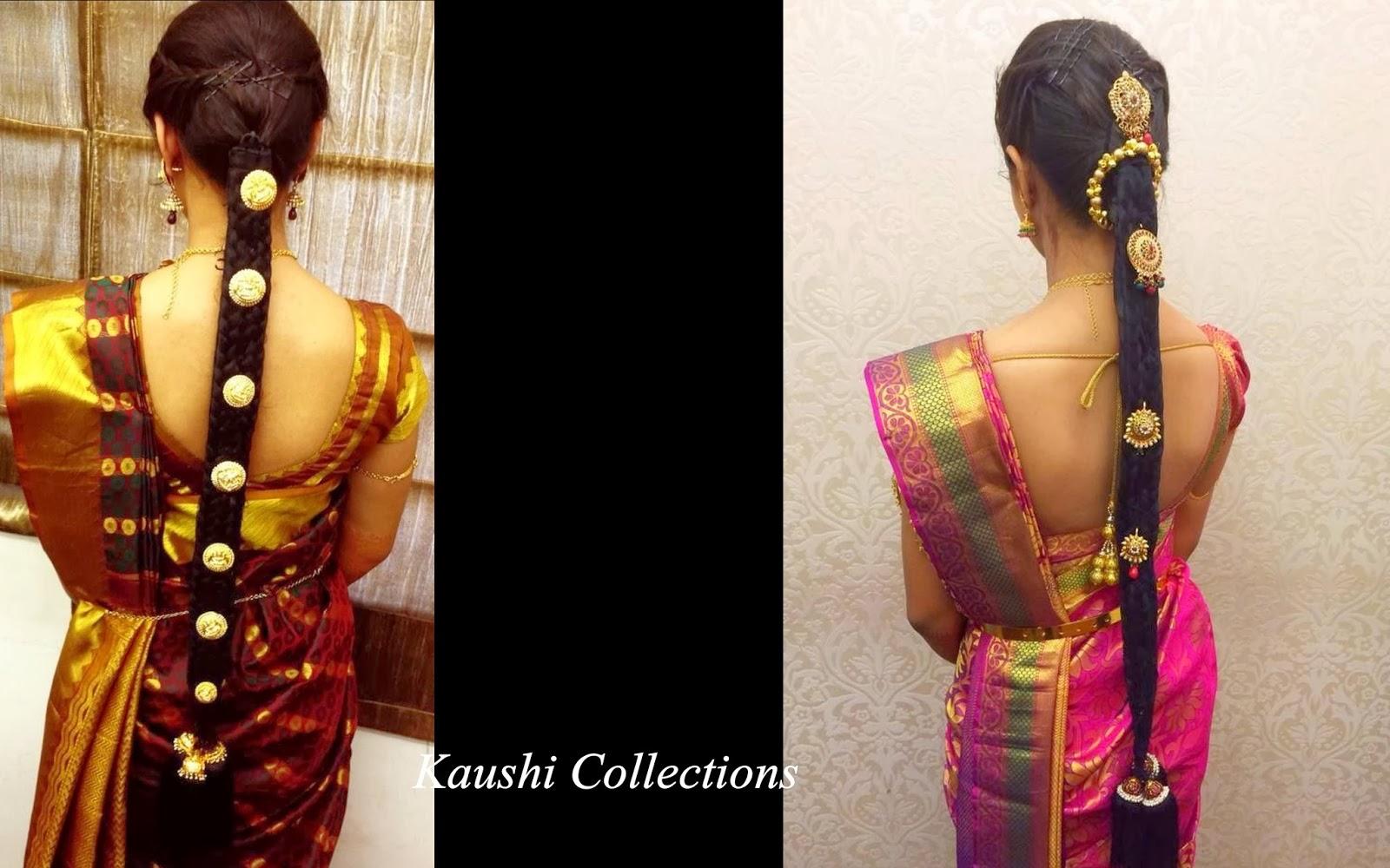 sparkling fashion: south indian bridal hair accessories, jada billalu