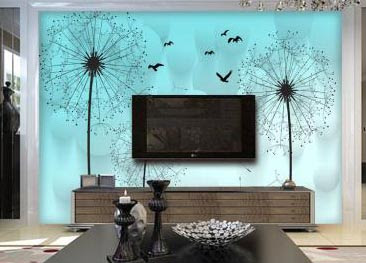 3D wallpaper for walls of living room interior designs 3D murals images (19)