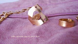 diy tutorial  / golden heart shaped valntine ring / złoty pierścionek / pierścionek z sercem