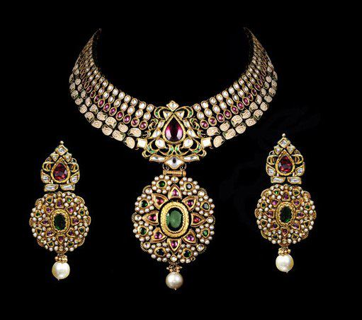 Indian Jewellery And Clothing: Indian Jewellery And Clothing: Beautiful Kundan Bridal