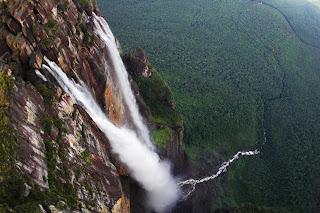 Angel Falls - Venezuela - 979 meters.
