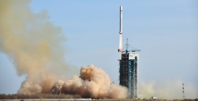 Long March 2D launches from the Jiuquan Satellite Launch Center on February 2. Photo Credit: Wang Jiangbo/Xinhua