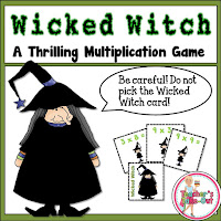 Free Multiplication Game with a Witch