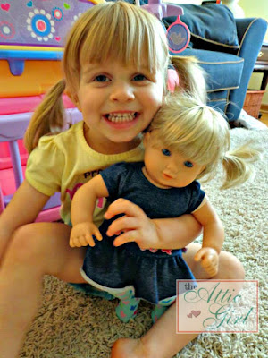 American Girl dolls, bitty twins