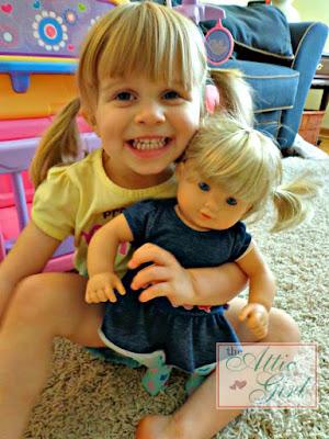 American Girl dolls, bitty twins