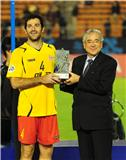 Ognenovski receives ACL 2010 MVP award from Junji Ogura