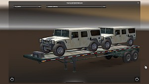 Trailer with Hummer