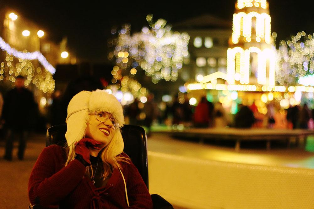 Świąteczna sesja zdjęciowa. Betlejem poznańskie. Inspiracje na święta, blog o modzie.