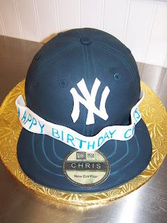 How To Make A Baseball Hat Birthday Cake