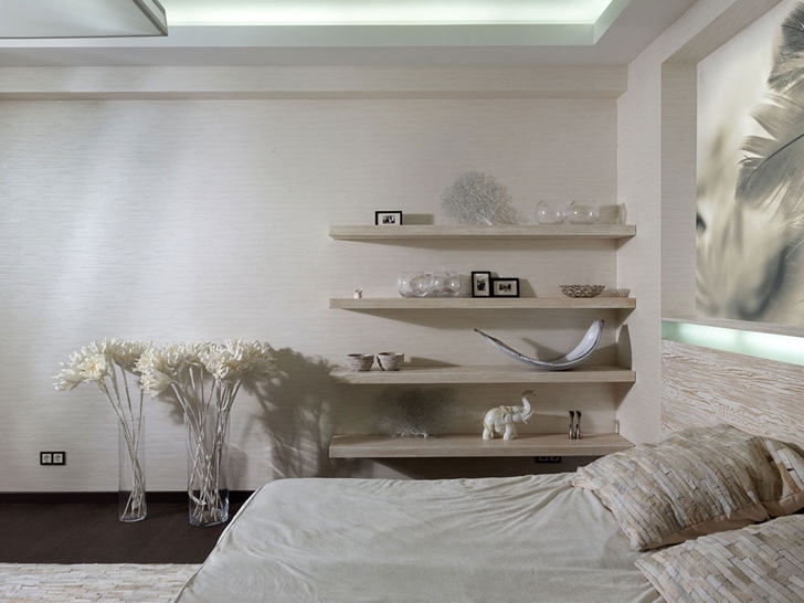 White furniture in Modern house by Yakusha Design