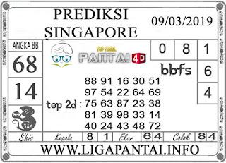 """Prediksi Togel """"SINGAPORE"""" PANTAI4D 09 MARET 2019"""