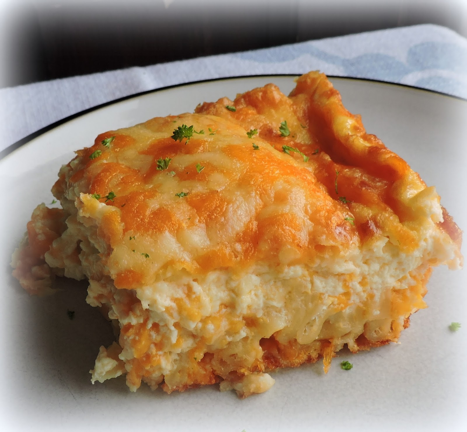 The English Kitchen: Mac And Cheese Pie