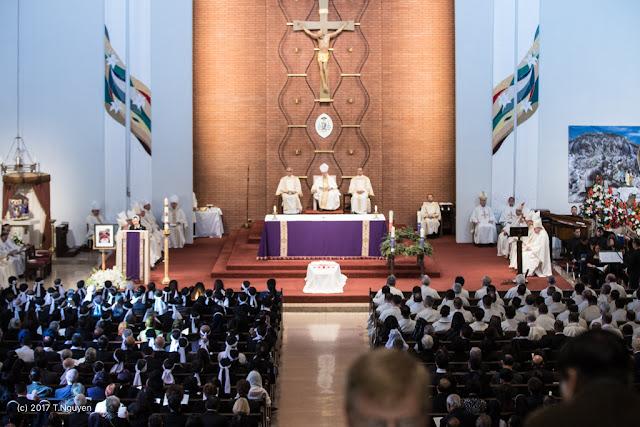 Hình ảnh thánh lễ an táng Đức Cha Dominicô Mai Thanh Lương - Ảnh minh hoạ 12