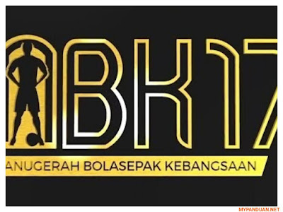 Keputusan Pemenang Anugerah Bolasepak Kebangsaan ABK 2017
