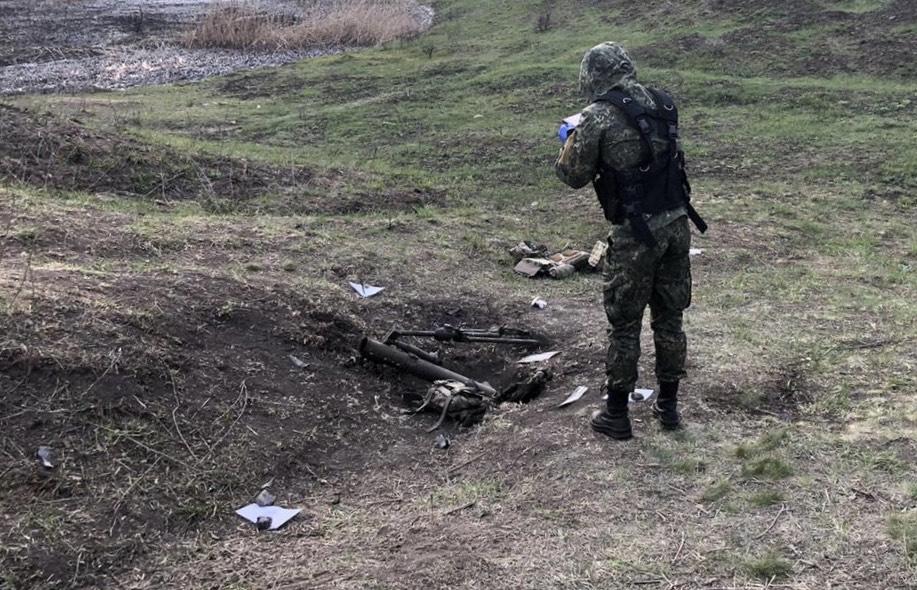 Від вибуху міномета на Донеччині загинув військовий