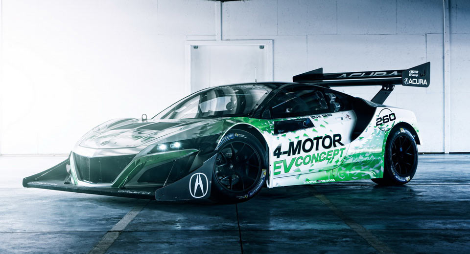 Don't Rule Out an All-Electric Acura NSX