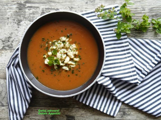 Zupa pomidorowa z batatem - Czytaj więcej »
