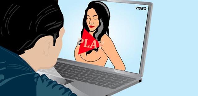 5 Ciri Pria yang Ketagihan Nonton Film Porno