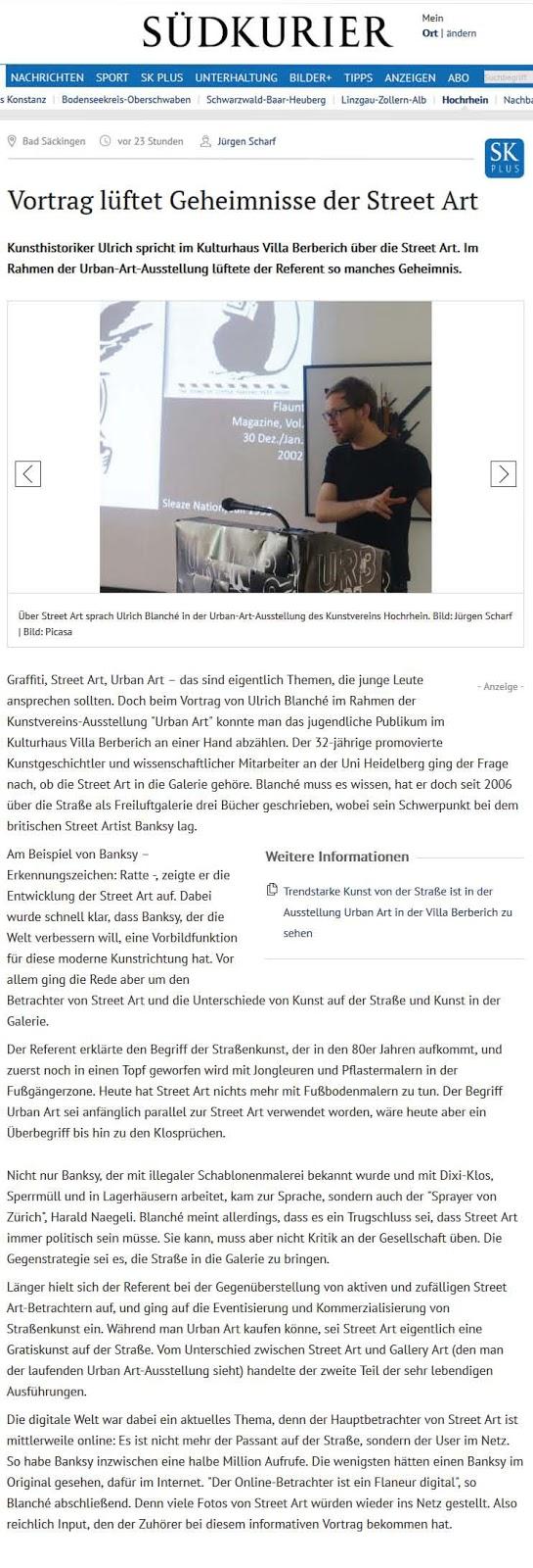 http://www.suedkurier.de/region/hochrhein/bad-saeckingen/Vortrag-lueftet-Geheimnisse-der-Street-Art;art372588,8790722