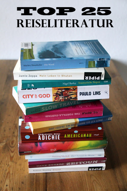 Top 25 Reiseliteratur