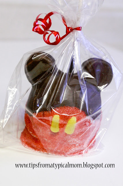 Mickey Mouse Caramel Apples For Parties Or Gifts Tips