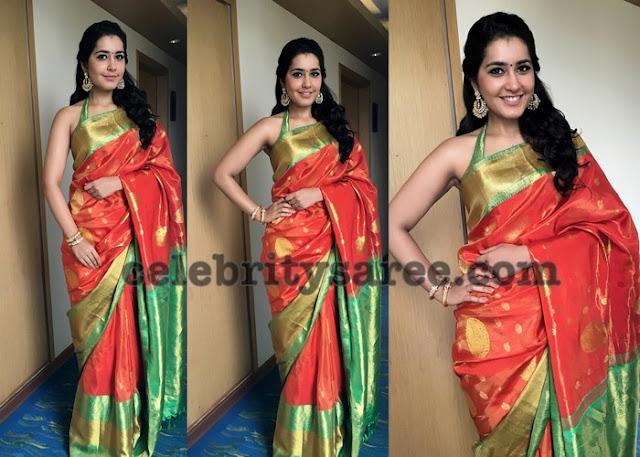 rashi-khanna-kanjeevaram-silk-saree3