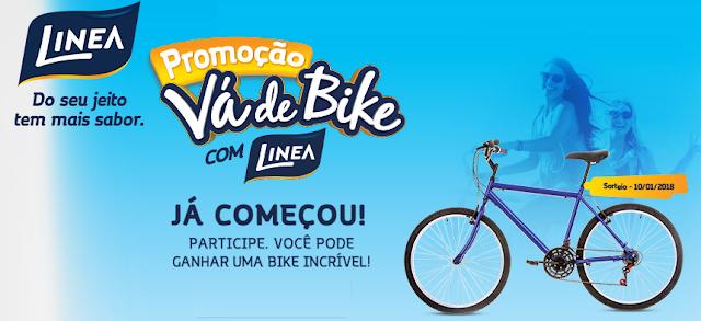 """Promoção: """"Vá de bike Linea"""""""