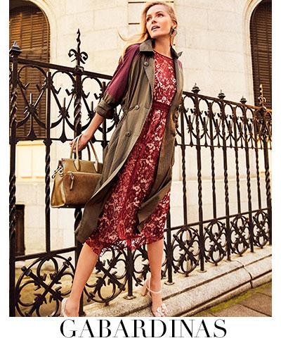 vestido gabardina mujer primavera 2017 El Corte Inglés