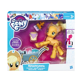MLP Posable Figures Applejack Brushable Pony