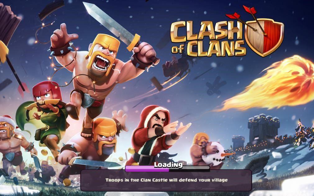clash of clans sekarang