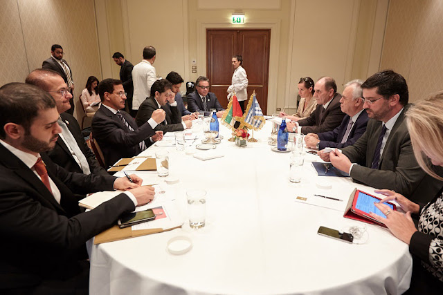 The Ministry of Economy holds UAE – Greece Business Forum in Athens