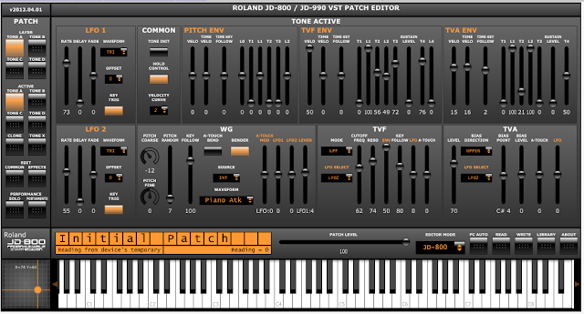 Roland JD800 Center: Software and Patches for the JD-800 and
