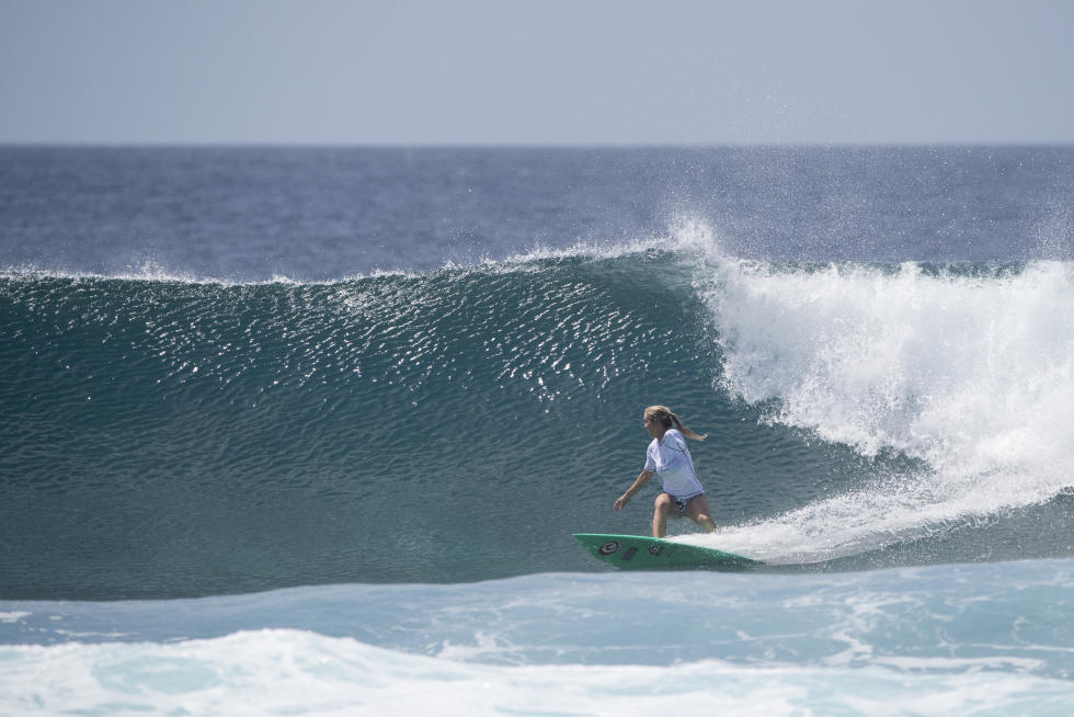 18 Bethany Four Seasons Maldives Surfing Champions Trophy foto WSL Sean Scott