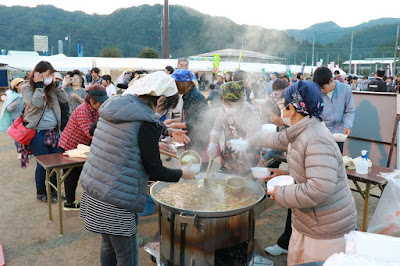 北海道標津町の鮭を使ったあきあじ鍋