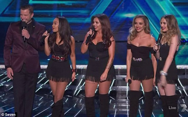 Little Mix se presentó en The X Factor Australia
