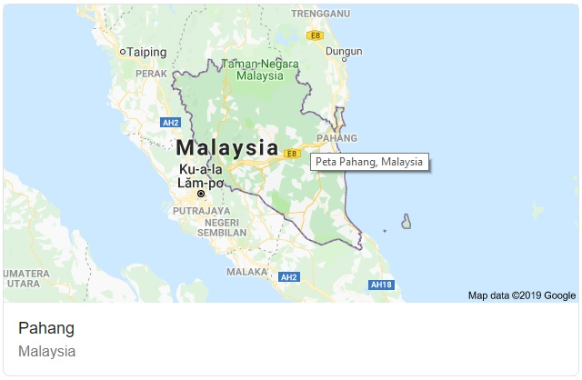 Pahang Maps