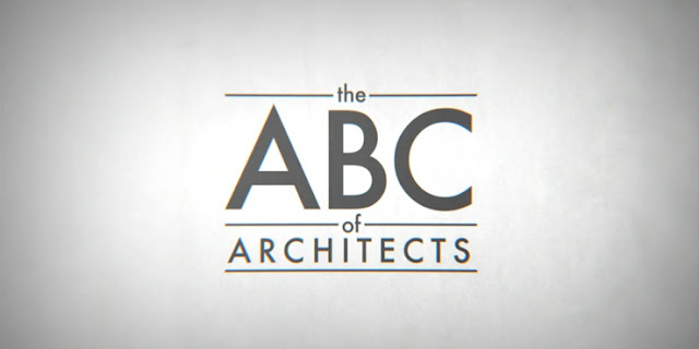 The ABC of architects Andrea Stinga Federico Gonzalez Green Pear Diaries
