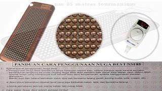cara memakai matras nm-85