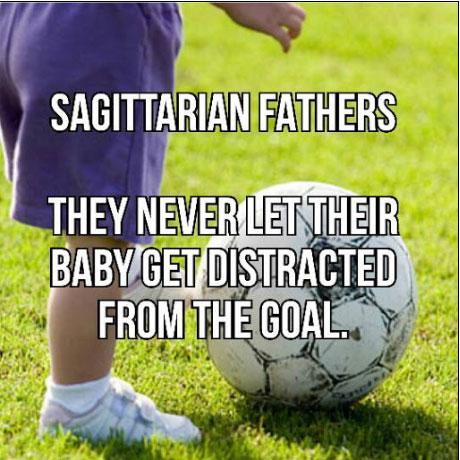 Sagittarians make their babied targeted toward their goal.