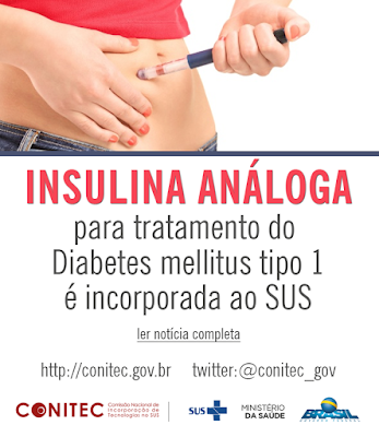 Análogos de Insulina SUS - Conitec