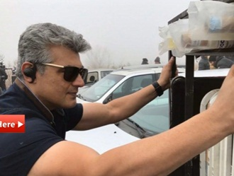 Ajith shooting in balgeria!