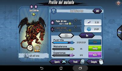 Mutants: Genetic Gladiators Breeding video N°151 (Pit Lord - Pit Lord)