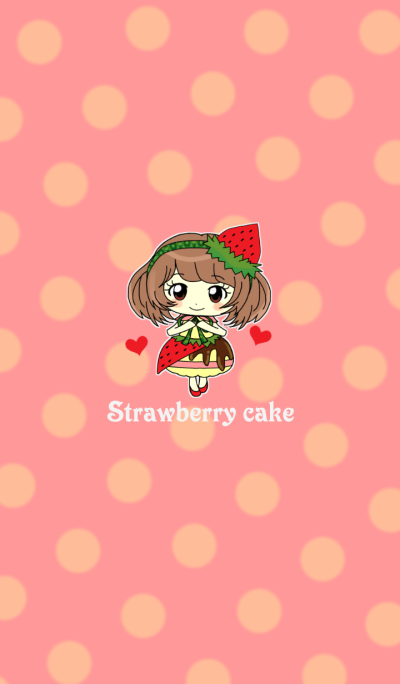 Strawberry cake party!!