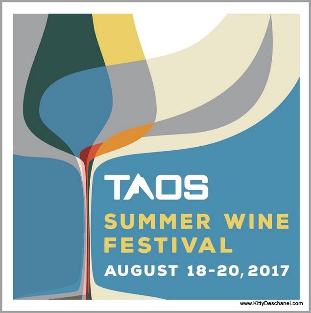 taos summer wine festival poster 2017