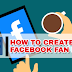 Facebook How to Create A Fan Page Updated 2019